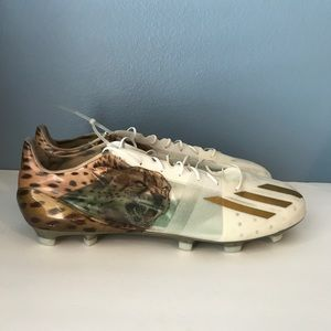 new style 8a1ea a5d2f  adidas  Adizero Low Uncaged Cheetah Cleats